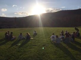 retreat evening